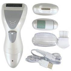 電動爪削り&角質ケアローラー(USB充電式)ND-5490
